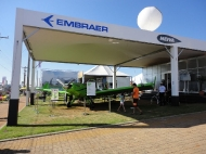Estande da Embraer / Neiva na Expodireto 2012_1